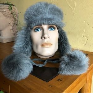 J. Crew fur trappers hat